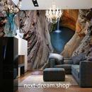 3D 壁紙 1ピース 1㎡ 自然風景 洞窟 鍾乳洞 セノーテ 岩 インテリア 装飾 寝室 リビング h02186