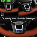 ワーゲン ステアリングバッジ ハンドル カバー Volkswagen GTI R LINE カーインテリア h00486