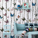 3D 壁紙 53×1000㎝ 木造 蝶々 バタフライ PVC 防水 カビ対策 おしゃれクロス インテリア 装飾 寝室 リビング h01855