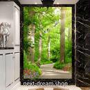 3D 壁紙 玄関用 1ピース 1㎡ 自然風景 森林 植物 野鳥 インテリア 装飾 部屋 耐水 防湿 耐衝撃 騒音吸収 h02740