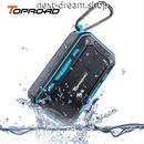 新品送料込  ポータブルスピーカー Bluetooth ワイヤレス オーディオ機器 防水 お風呂 BBQ キャンプでも 音楽 プレゼント  m00632