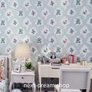 3D 壁紙 53×1000㎝ 子供部屋 テディベア DIY 不織布 カビ対策 防湿 防水 吸音 インテリア 寝室 リビング h02111
