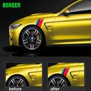 BMW ステッカー 2個入 F30 F20 F10 X1 X3 X5 X6 E46 E36 E60 E90 Mパワー モータースポーツ フェンダー ボディ h00209