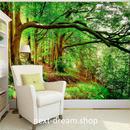 3D 壁紙 1ピース 1㎡ 自然風景 森林 樹木 癒し 太陽の光 インテリア 装飾 寝室 リビング h02192