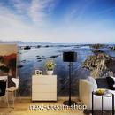 3D 壁紙 1ピース 1㎡ 自然風景 岩場 海 癒し インテリア 装飾 寝室 リビング 耐水 防カビ h02370