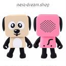 新品送料込  ポータブルスピーカー Bluetooth ロボット 犬 ワンちゃん  音楽 屋外 パーティ お子さまへのプレゼントに◎ m00739