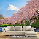 3D 壁紙 1ピース 1㎡ 自然風景 桜の景色 富士山 和風 インテリア 装飾 寝室 リビング h02292