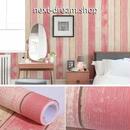壁紙 60×500cm 木板 ストライプ ピンク DIY リフォーム インテリア 部屋 キッチン 家具にも 防水 防湿 h03760