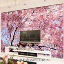 3D 壁紙 1ピース 1㎡ 自然風景 桜の景色 和風 癒し インテリア 装飾 寝室 リビング h02296