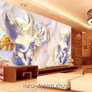 3D 壁紙 1ピース 1㎡ 立体アート 彫刻 天使 インテリア 部屋 寝室 リビング 防湿 防音 h03047