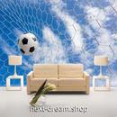 3D 壁紙 1ピース 1㎡ 立体空間 サッカーゴール 空 DIY リフォーム インテリア 部屋 寝室 防湿 防音 h03291