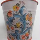 作品 ブリキの鉢カバー(A)