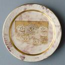 ペルシャ猫たちのケーキ皿
