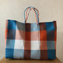 L size Mexican Plastic Tote bag メキシカントートバッグ
