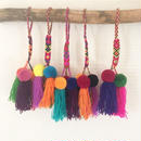 カラフル 3BALLS & 3タッセル COLORFUL 3BALLS& 3TASSELS  POMPOMS(A to E)