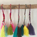 カラフル 3タッセル COLORFUL3TASSELS  POMPOMS(F to J)