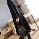 カシミヤタッチ ロングニットコート(4カラー)