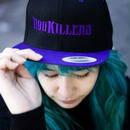 Snapback cap Purple