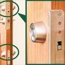 HORI LOCKS ツーロック上下セット  シリンダー交換 鍵3本付 ※工賃別