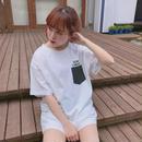 182CS65【unisex】 バック刺繍シナモンTシャツ