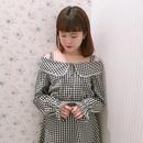 181SH21 ギンガム抜き襟シャツ
