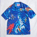 Made by Grandma for Mafia    80's bedsheets Hawaiian Shirt / B