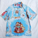 Made by Grandma for Mafia    80's bedsheets Hawaiian Shirt / C