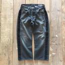 Sunny Side Up  SIDE LINE BLACK DENIM PANTS