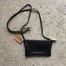 レザーポーチ(smallサイズ)-ブラック