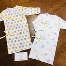 〈手足が冷えやすい赤ちゃんへ〉HowCute®︎低出生体重児スリムロング袖サイズ35 1500g〜ミトン付き