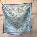 manipuri18 silk scarf MAP   65×65