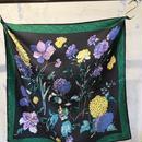 manipuri 18 silk scarf HYDRANGEA 65×65