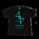 FORCE TEE (BLKxEME)