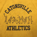 "80's CHAMPION Tee ""CATONSVILLE ATHLETICS"" (used)"