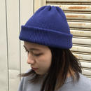 "crepuscule ""knit cap2"" / クレプスキュール ""ニットキャップ2"" (ブルー)"