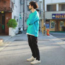 "Sandinista ""Easy Fit Slit L-S Tee"" (ターコイズ)"