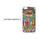"""iPhone 6/6S/7/8 Plus  XsMax対応   ハードケースカバー """"Surf Rider Rainbow 2"""""""