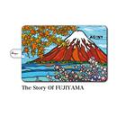 "iPad mini~4/Air1.2対応 手帳型カバー ""The Story Of FUJIYAMA"""