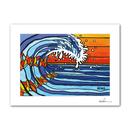"""A4 ArtPrint マットフレーム """"The Beaming Wave"""""""