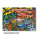 Mac Book カバー 〝Island Hula Girl〟
