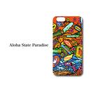 "iPhone 6/7/8/X 対応 ハードケースカバー ""Aloha State Paradaise"""