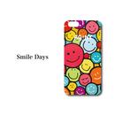 "iPhone 6/7/8/X 対応   ハードケースカバー ""Smile Days"""