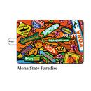 "iPad mini~4/Air1.2対応 手帳型カバー ""Aloha State Paradise"""