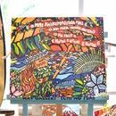 """木張りキャンバスプリント/Artist Proof F10号 """"Island Hula Girl"""""""