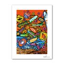 "A4 ArtPrint マットフレーム ""Aloha State Paradise"""