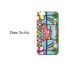 """完全オリジナル特注!!iPhone 5/5s/SE/6/7/8/X/XR 対応   ハードケースカバー """"Time To Go"""""""
