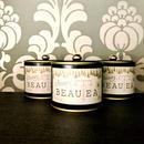 薬膳茶*Beauty BEAUTEA缶入り【ブラック】