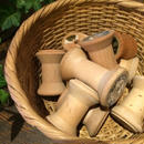 【古道具56 】レトロ 木製糸巻き 10個組