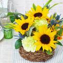Summer gift アレンジメント/生花【yellow】