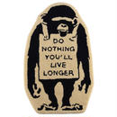 Rug Mat MONKEY SIGN